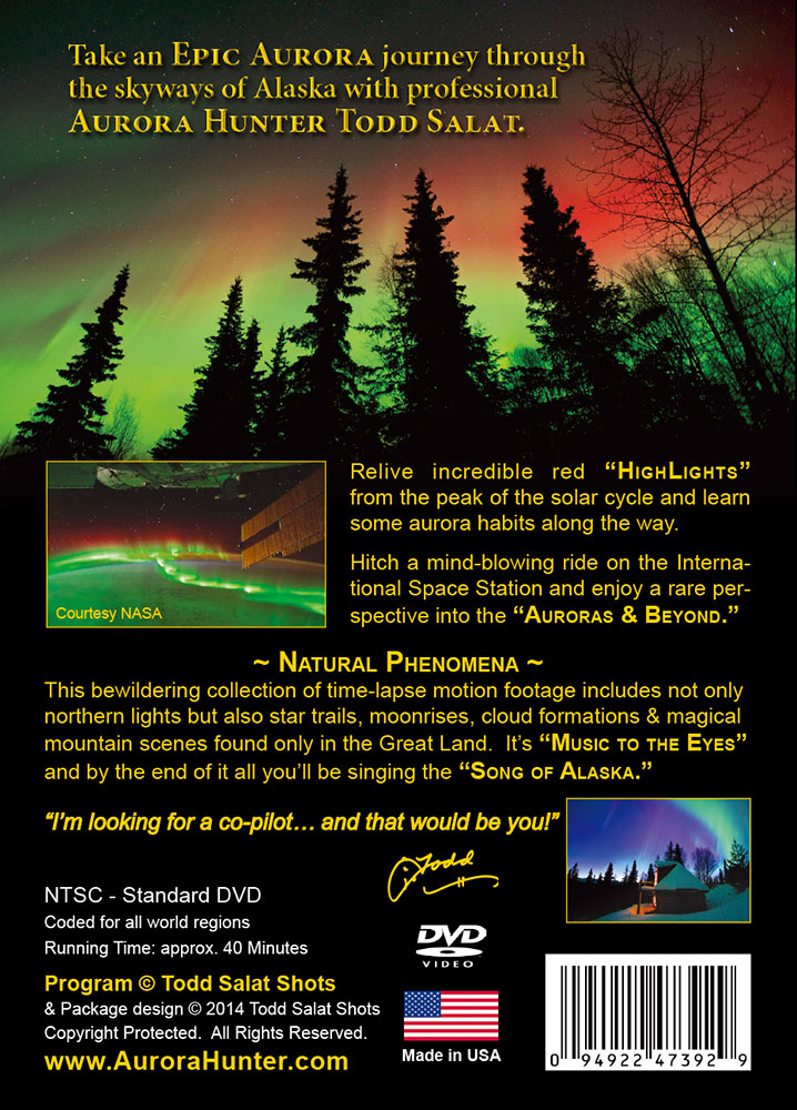 Epic Aurora & Natural Phenomena back cover