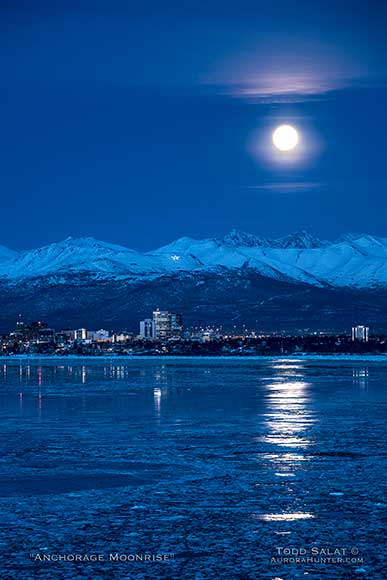 Anchorage Moonrise